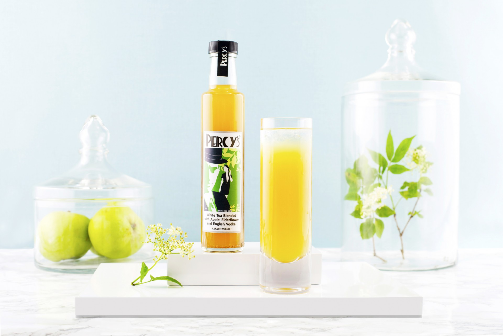 Percy 39 s apple and elderflower vodka iced tea percy 39 s tea for Vodka and iced tea drinks