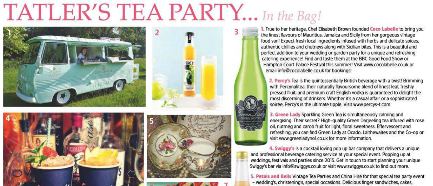 Percy's Tea Party